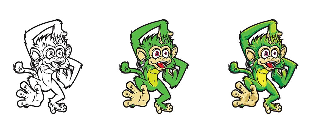 buzzmonkey-character